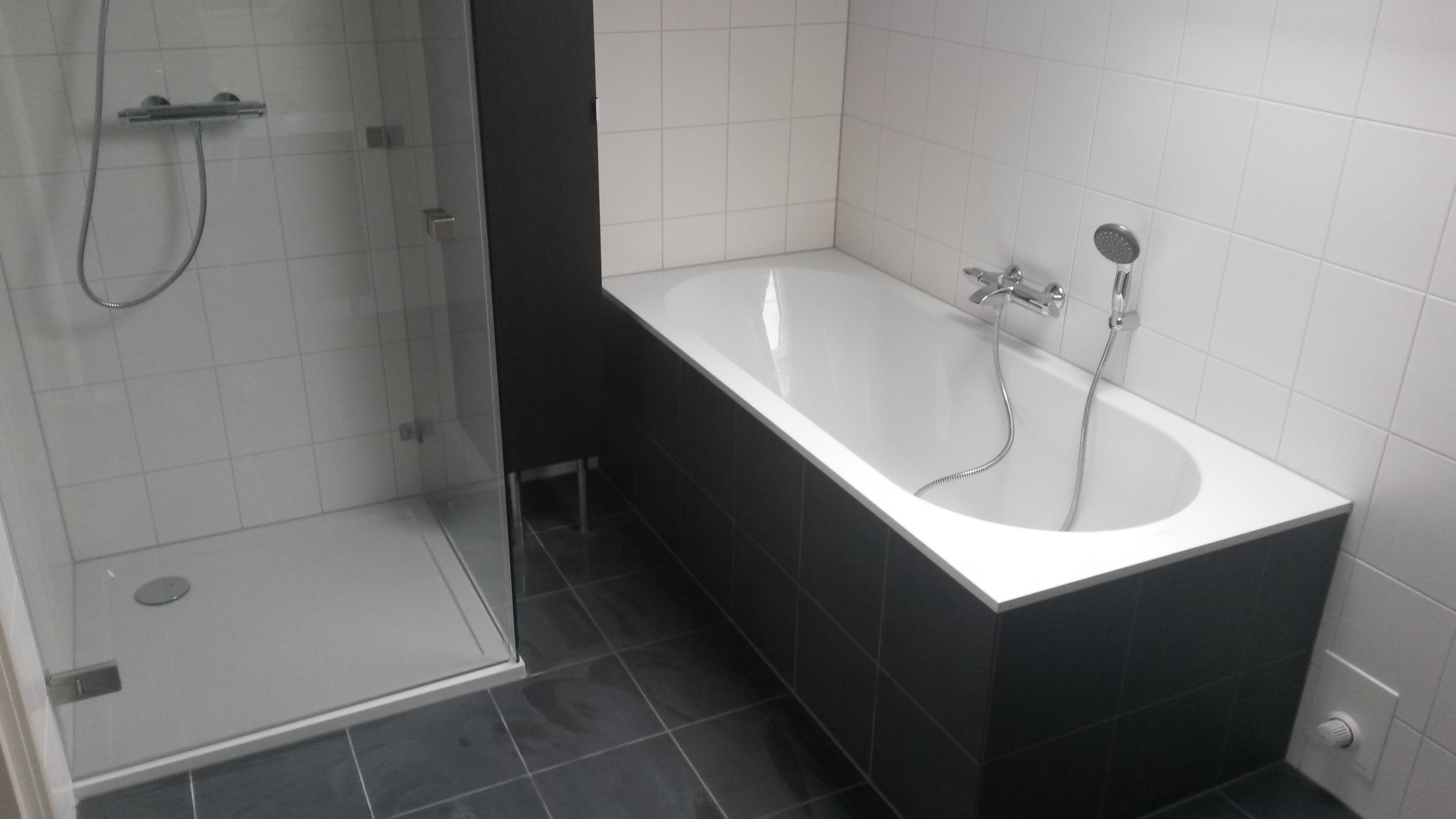 Verbouw van badkamer